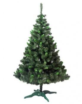 Коледна елха със зелен връх - Бор -  120см