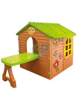 Mochtoys - Детска къща с маса