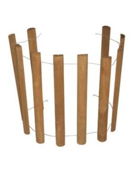 Оградка дървена от топола