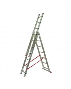 Трираменна алуминиева стълба Alpos Ratio 44-07
