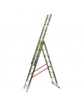 Трираменна алуминиева стълба Alpos Ratio 44-08