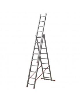 Трираменна алуминиева стълба Alpos Ratio 44-09