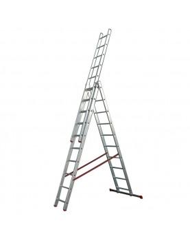 Трираменна алуминиева стълба Alpos Ratio 44-10