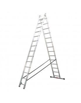 Двураменна алуминиева стълба Alpos Expert 40-14