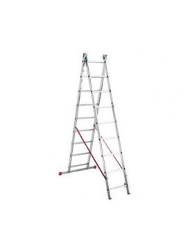 Двураменна алуминиева стълба Alpos Ratio 47-13