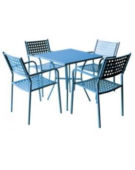 Градински комплект АМ-С159-141-1 Син цвят