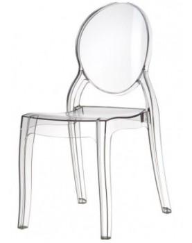 Стол Елизабет - прозрачен поликарбонат