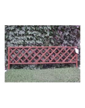 Декоративна плетена ограда - модел 1