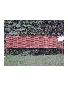 Декоративна плетена ограда - модел 2