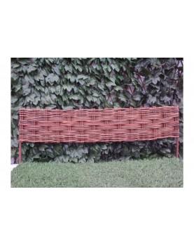 Декоративна плетена ограда - модел 3