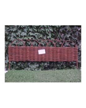 Декоративна плетена ограда - модел 4