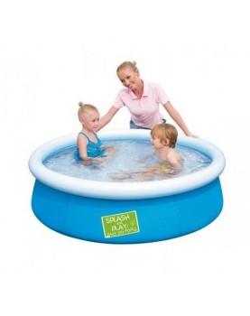 Bestway - Надуваем басейн My first Fast Set Pool 152x38 см - син