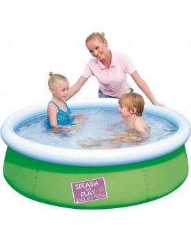 Bestway - Надуваем басейн My first Fast Set Pool 152x38 см - зелен