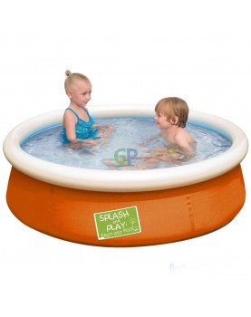 Bestway - Надуваем басейн My first Fast Set Pool 152x38 см - оранжев