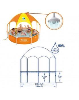 Bestway - Сглобяем басейн 2.44м/51см - със сенник