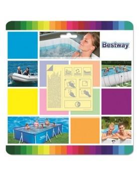 Bestway - Ремонтен комплект за лепене/10бр водоустойчиви лепенки