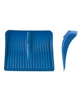 Гребло за сняг - PVC плоско 50см, отвор за дръжка ф35мм