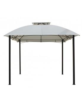 Градинска шатра с черна рамка 3м - бежов плат (CSG1502)