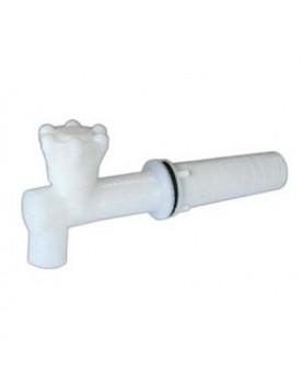 Канелка PVC - дълга за буре
