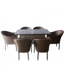 Ратанов комплект 350-45-2 с възглавнички