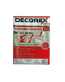 Найлон покривен 4х5м 50µ /DECOREX EXTRA/