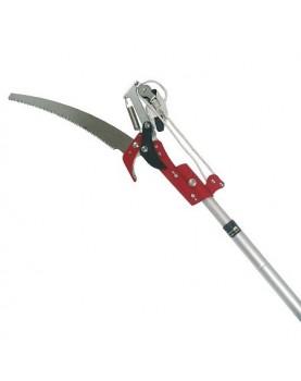 Ножица за клони/с трион и алуминиева телескопична дръжка/