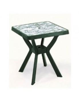 Маса Нило VIP с декорация на плота - зелен мрамор
