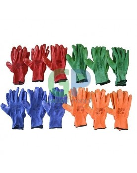 Ръкавици - Four colors 12бр. /Decorex/